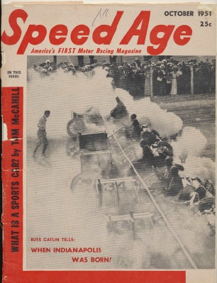 October 1951 Speed Age Motor Racing Magazine